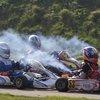 Karting exhaust fumes